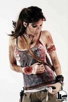Tombraider Lara Croft Kostüm selber machen   Kostüm Idee zu Weihnachten, Karneval, Halloween & Fasching
