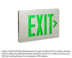 Exit Signs & Emergency Lights