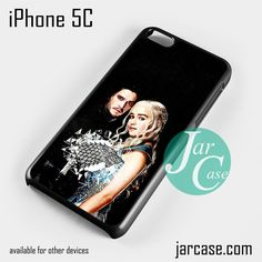 Game of Thrones Jon Snow & Khalesi Phone case for iPhone 5C and other iPhone devices