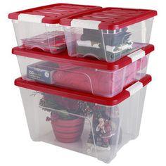 IRIS Holiday Storage Combo Set