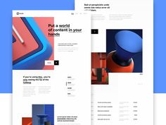 Calmis concept by Outcrowd