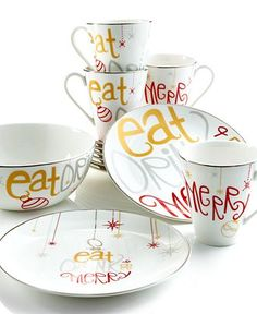 cute christmas serving dishes from lenox hmmmmmm do i need these