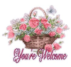 Welcome 2 My Page Comments, Graphics and Greetings Codes for Orkut, Friendster, Myspace, Tagged You're Welcome, Glitter Graphics, Have A Beautiful Day, Great Artists, Little Ones, Floral Wreath, Coding, Projects, Cards