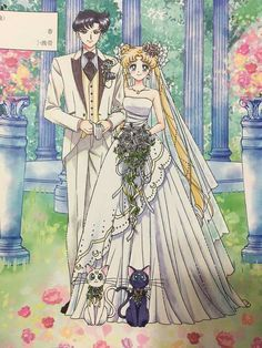 New Sailor Moon marriage registration paperwork design featuring Classic Anime Mamochan and Usagi! Makes me wanna marry ASAP and throw a Sailor Moon themed celebration party. Sailor Moon Manga, Sailor Moons, Sailor Moon Crystal, Cristal Sailor Moon, Arte Sailor Moon, Sailor Jupiter, Sailor Moon Wedding, Otaku, Princesa Serenity