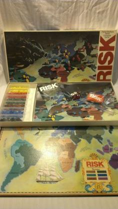 Vintage Risk World Conquest Game Parker Brothers 1980 Nice Condition Complete | Can't Resist Vintage