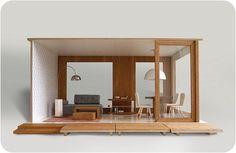rafa kids: Design in Poland - modern dollhouse by Miniio