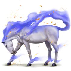 Skeiron, Winds horse