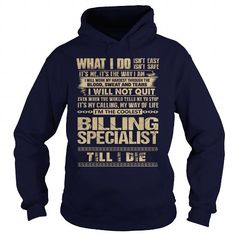 Awesome Tee For Billing Specialist T Shirts, Hoodies. Get it now ==► https://www.sunfrog.com/LifeStyle/Awesome-Tee-For-Billing-Specialist-91752722-Navy-Blue-Hoodie.html?57074 $36.99