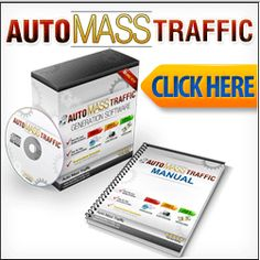 It really doesn't matter what you sell, or who you sell it to. Once you have access to this level of traffic on demand, you'll be changing your life for the better.   You'll never look back once you apply the Auto Mass Traffic™ software... http://smb06.org/auto-mass-traffic-generation-software