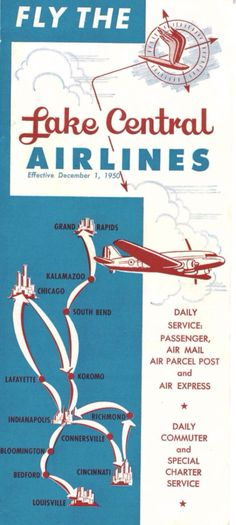 More Old Airline Route Maps Maps Pinterest Air Travel