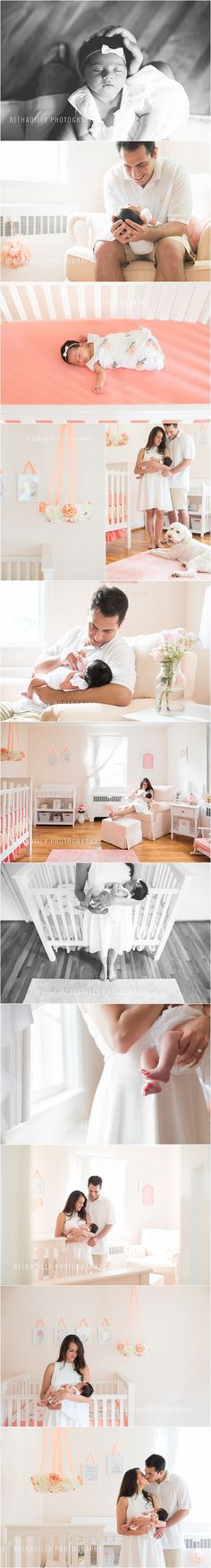 Perfectly Pink | Northern Virginia Newborn Photographer | Bethadilly Photography