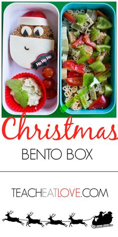Healthy Christmas lunch ideas at www.teacheatlove.com