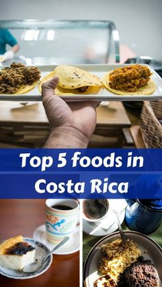 Here is a quick introduction of Costa Rica food and what we consider as local are the top 5 foods.