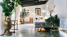Furniture Designer Chris Earl's Amazing Rehabbed L.A. Home Has a Speakeasy Inside   GQ