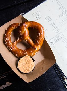 Easy Tiger pretzel and beer cheese #austin #atx #food @Easy Tiger