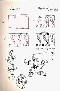 Poppie's Pen Pics ©: Cameo - New Pattern