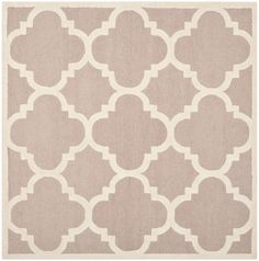 Cambridge Amias Beige Ivory 6 Ft X 6 Ft Indoor Square Area Rug Wool Area Rugs Square Area Rugs Silver Area Rug