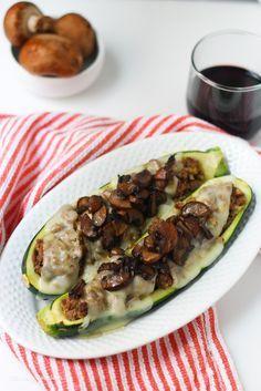 Stuffed Zucchini Boats | Recipe | Stuffed Zucchini Boats, Zucchini ...