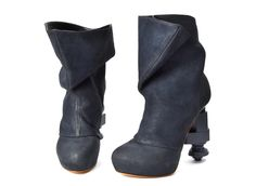 Fall/Winter_13.14 Collection. Recycle shoes by Liza Fredrika Åslund