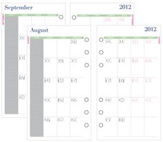 Indesign Calendar Template  PaginationCom  Art  Work