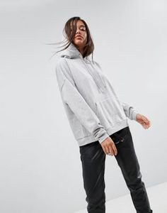 ASOS - Sweat à capuche coupe carrée