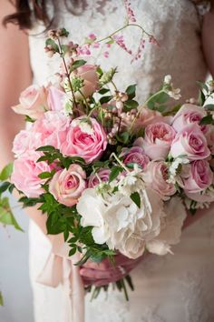 Wedding Bouquet ~ Jill Lauren Photography