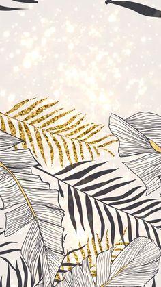 Wall paper iphone floral backgrounds desktop wallpapers Ideas for 2019 Watercolor Desktop Wallpaper, Leaves Wallpaper Iphone, Gold Wallpaper, Wallpaper Iphone Cute, Wallpaper Backgrounds, Floral Backgrounds, Phone Backgrounds, Pattern Wallpaper Iphone, Wallpaper Ideas