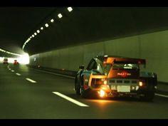 Wangan Street Racing Japan Porsche vs Nsx   深夜に繰り広げられるカーレース
