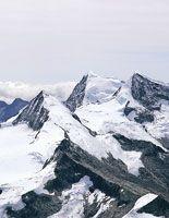 Glaciares en las altas cumbres de la Sierra Nevada de Santa Marta.