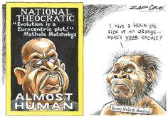 Mathole : Homo Naledi promotes Africans as Subhuman