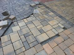 Belgard Urbana Pavers (in Silex Blend) for the back patio and wall