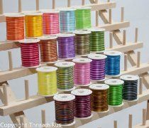 New ThreadsRus 20 Spools Varigated Poly Machine Embroidery Threads from ThreadsRus