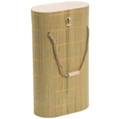 Oenophilia Two-Bottle Natural Bamboo Wine Carrier by Oenophilia. $18.00. Reusable wine carrier. Bamboo, a natural, sustainable wood. A perfect gift for the wine lover. An attractive box to house two single standard size bottles of wine. This Oenophilia Two-Bottle Bamboo Wine Carrier features sturdy bamboo body with attractive vertical lines. Bamboo, a sustainable wood that is easily replenished and individually harvested from controlled forests, is beautiful. This wine ...