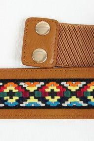 Tribal Multi Tone Threaded Belt #urbanog