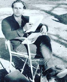 Marlon Brando, on the set of One Eyed Jacks I believe