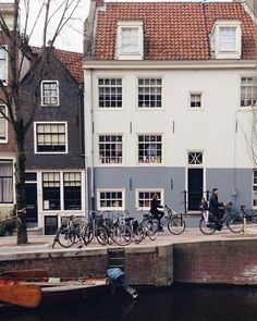 Amsterdam - beautiful muted colors