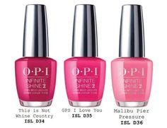 OPI California Dreaming Summer 2017 Collection - Beauty Trends and Latest Makeup Collections Opi Nail Polish, Opi Nails, Nails 2017, Nail Polishes, Nail Nail, Cute Nails, Pretty Nails, Opi California Dreaming, Opi Nail Colors