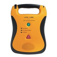 St Andrews First Aid - DEFIBTECH Lifeline (AED) - Semi-Automatic Defibrillator (7 Year Battery Pack), £1,089.00 (http://shop.firstaid.org.uk/aed-defibrillator/defibtech-lifeline-aed-semi-automatic-defibrillator-7-year-battery-pack/)