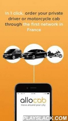Allocab Private Cab Driver  Android App - playslack.com ,  Find your private taxi in 1 clickLeader in France (12 cities) • More than 500 drivers • Up to 30% cheaper than a taxi service • instant booking • More than 100,000 satisfied customersDownload for free Allocab to book your private cab and liveries in Paris and its surrounding areas in Lyon, Cannes, Nice, Lille, Nantes, Toulon, Rennes, Montpellier, Marseille, Bordeaux, Toulon, Avignon...Allocab has been publicized on French national…