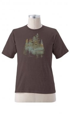 Earth Creations - Forest Solitude on Organic Tee