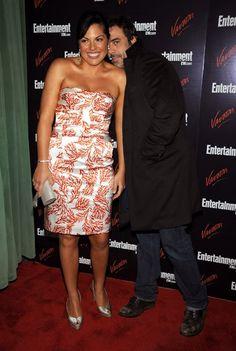 Sara Ramirez e Jeffrey Dean Morgan - A Entertainment Weekly & Vavoom Partido Upfront anual no Hotel Bowery, em Nova York, 13 may 2008