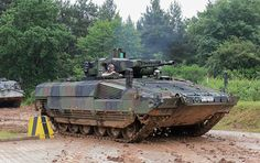 The German infantry fighting vehicle Puma, which is considered to be one of the best-protected armored vehicles in the world, has turned out to be vulnerable to. Military Armor, Military Gear, Army Vehicles, Armored Vehicles, Puma Ifv, Armored Fighting Vehicle, Battle Tank, World Of Tanks, German Army