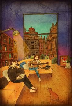 sweet-couple-love-illustrations-art-puuung-36__700