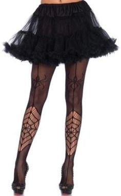c12774e0d52 Leg Avenue Women s Itsy Bitsy Spider Net Pantyhose