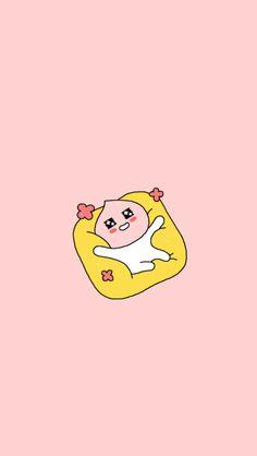 카카오프렌즈 어피치 Peach Wallpaper, Pink Wallpaper Iphone, Kawaii Wallpaper, Cute Backgrounds, Cute Wallpapers, Apeach Kakao, Cute Sketches, Kakao Friends, Pink Photo