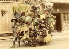 Vendeur, Japon, 1902