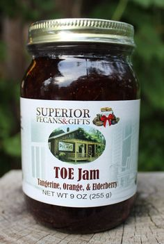 Now this TOE Jam probably isn't what you're thinking! Tangerine, Orange, and Elderberry makes the best TOE Jam you've ever tasted!
