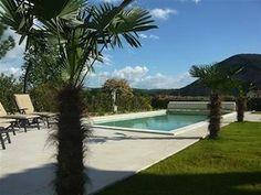 Vakantiehuis les Palmiers - Les Mazes (Valon Pont d'Arc) - Ardèche Zuid Frankrijk - Privé zwembad