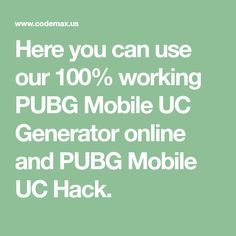 Here you can use our 100% working PUBG Mobile UC Generator online and PUBG Mobile UC Hack. Mobile Generator, Point Hacks, Play Hacks, App Hack, Gaming Tips, Android Hacks, Epic Games, Mobile Game, Games To Play