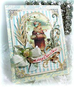 Crafty Secrets Heartwarming Vintage Ideas and Tips: Blog Winner, Christmas cards, Tutorial, Ornaments, Mini Album & Sparkle Challenge
